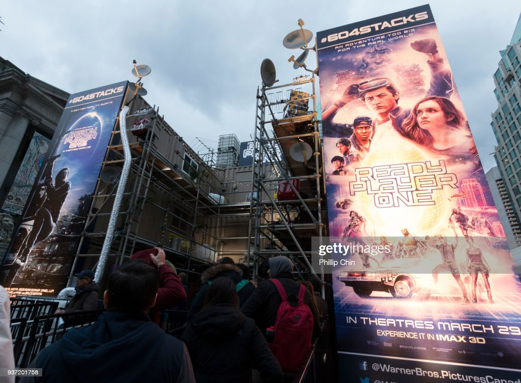 'Ready Player One' film amazes Vancouver with world exclusive fan experience! #604STACKS in conjunction with the Juno awards on March 23, 2018 in Vancouver, Canada.