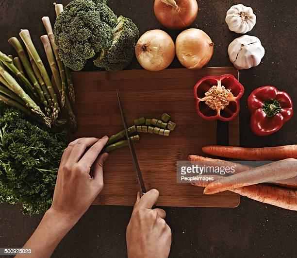 Ready, set, chop!