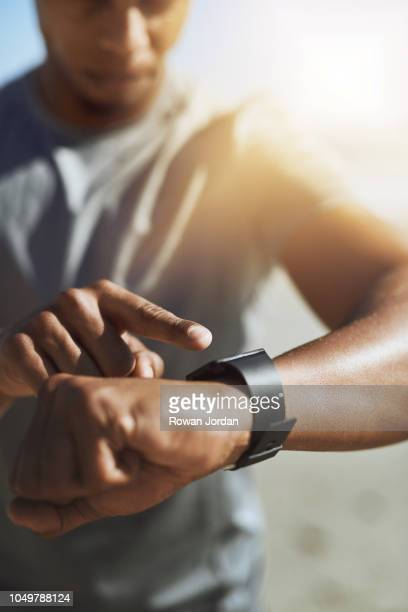 ready, set, go! - fitness tracker stock pictures, royalty-free photos & images