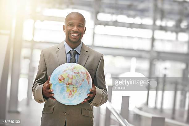 Listo para conquistar el mundo empresarial