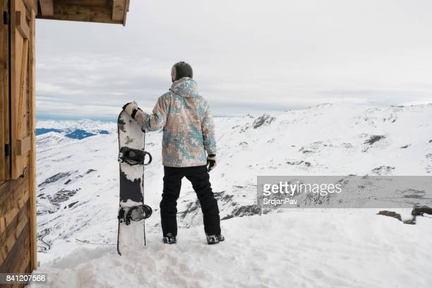 ready to hit the slopes - val thorens stock pictures, royalty-free photos & images