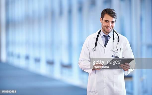 Bereit, eine Diagnose