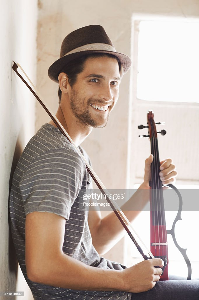 Ready to make some music : Stock Photo