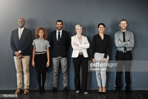 ready to make success happen - gruppo di persone foto e immagini stock