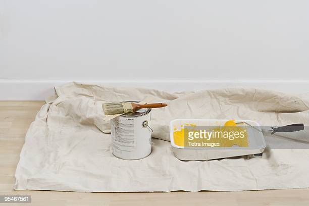 Ready to paint a wall