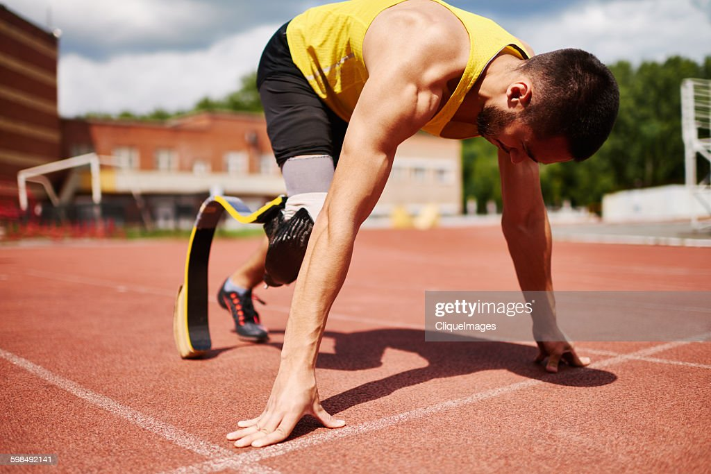 Ready to run : Stock Photo