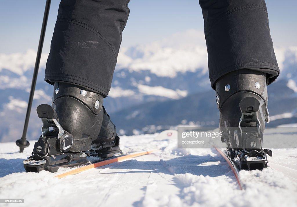 Ready To Ski : Stock Photo