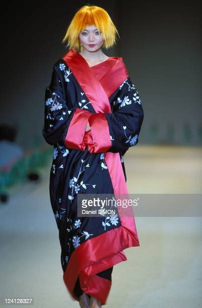 Ready to wear fashion show autumn winter 96 97 in Paris France in March 1996 Kenzo