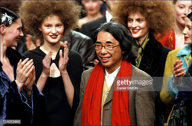 Ready to wear fashion show Fall winter 98/99 In Paris France On March 10 1998 Kenzo fashion show