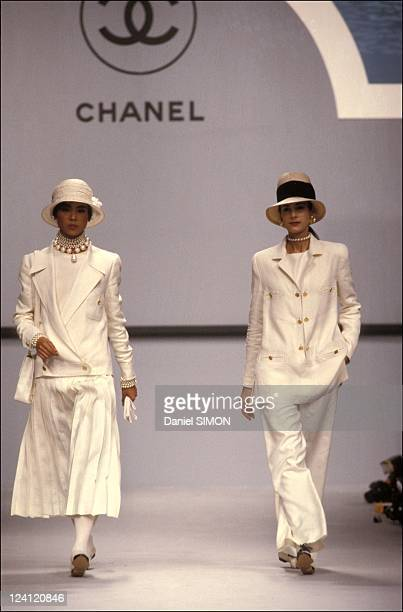 Ready to wear Spring Summer 1989 in Paris France in October 1988