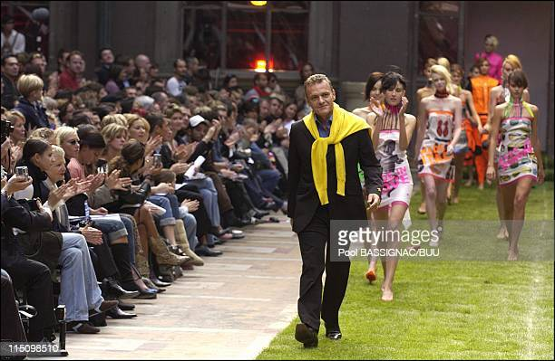 Ready to wear springsummer 2004 JeanCharles de Castelbajac in Paris France on October 12 2003 JeanCharles de Castelbajac