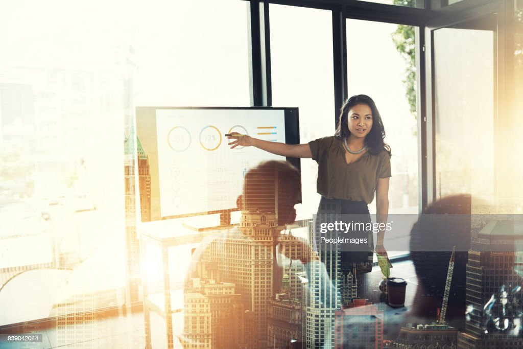 Readying themselves for success : Stock Photo
