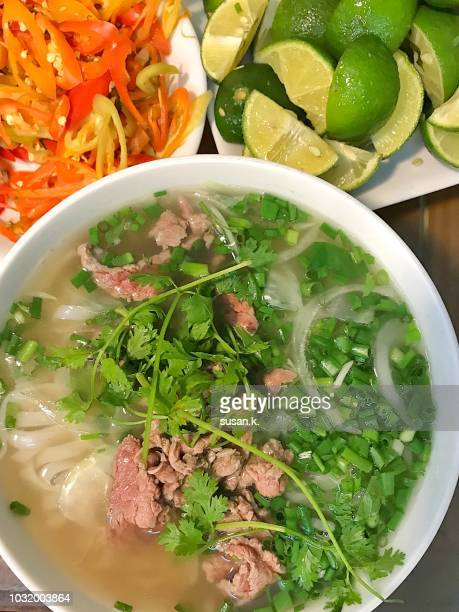Ready-to-eat pho soup