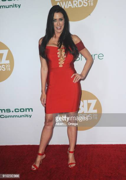 Reagan Foxx arrives for the 2018 XBIZ Awards held at JW Marriot at LA Live on January 18 2018 in Los Angeles California