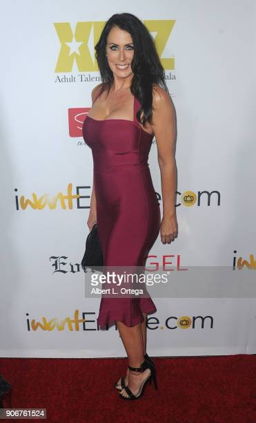 Reagan Foxx arrives for XBiz's RISE Performer Appreciation Event held at 1 Oak on November 15 2017 in West Hollywood California