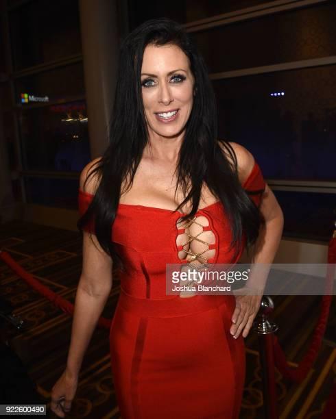 Reagan Foxx attends the 2018 XBIZ Awards on January 18 2018 in Los Angeles California
