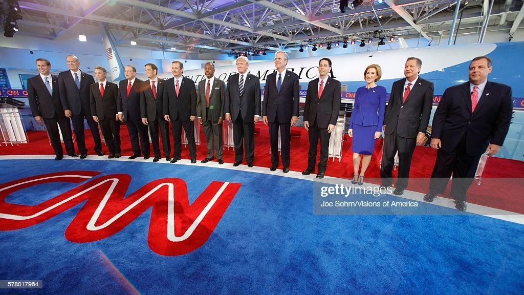 Presidential Debate, with Rick Santorum, George Pataki, Rand Paul ...