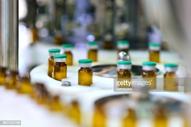 Reagents Bottle at Annulus Production Line