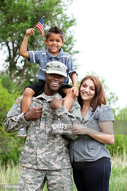 Real American Military Family