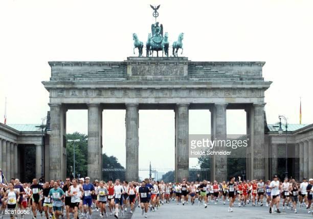 real BERLIN MARATHON 2000 Berlin 100900
