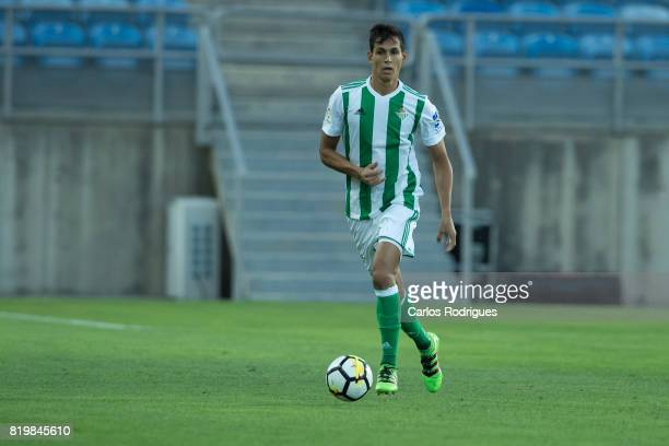 Real Betis defender Aissa Mandi during the PreSeason Algarve Cup match between SL Benfica and Real Betis FC at Estadio do Algarve on July 20 2017 in...