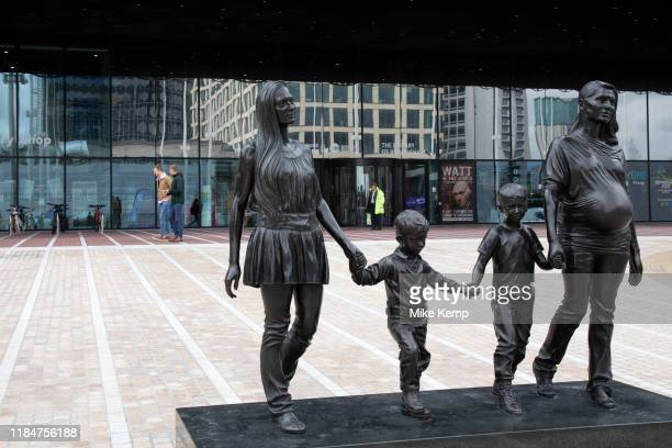Real Birmingham Family by Gillian Wearing in Birmingham, United Kingdom. A Real Birmingham Family is a public artwork and sculpture by Gillian...
