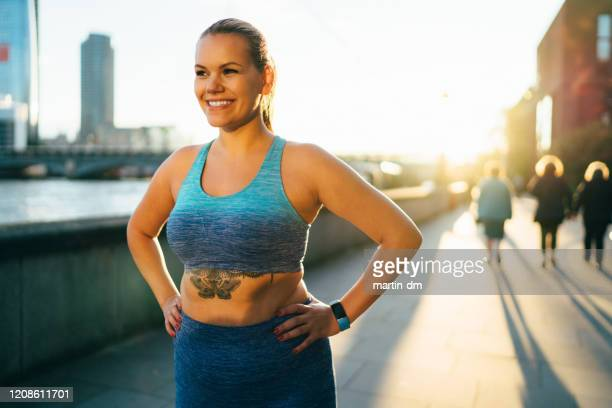 real body sportswoman in london - large stock pictures, royalty-free photos & images