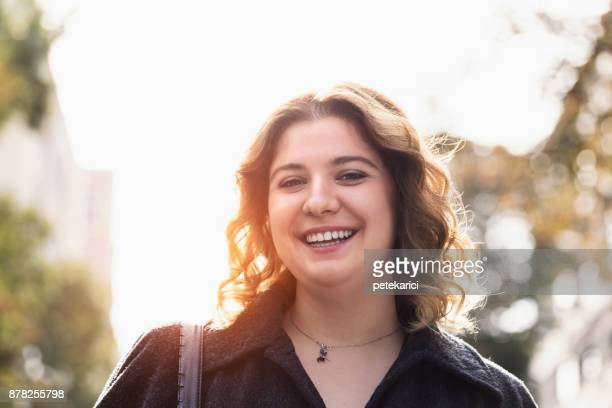 real caucasian young woman portrait - plus size model stock pictures, royalty-free photos & images