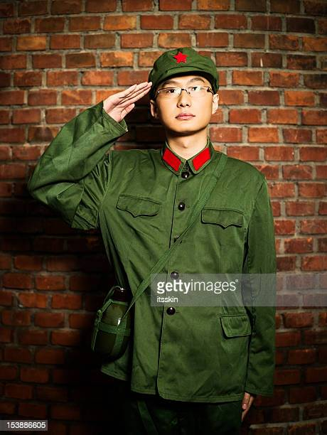 Real chinese soldier