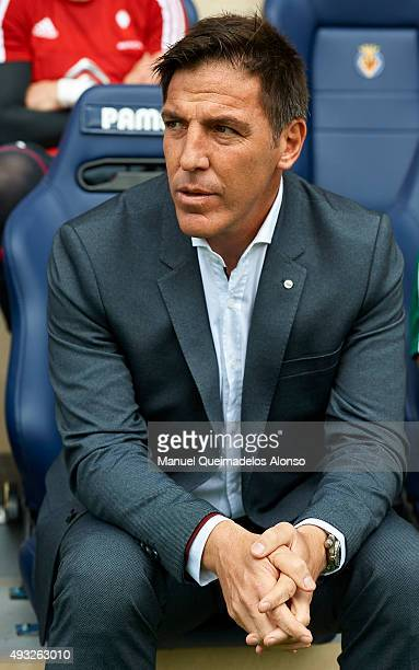 Real Club Celta de Vigo manager Eduardo Berizzo looks on prior to the La Liga match between Villarreal CF and RC Celta de Vigo at El Madrigal Stadium...