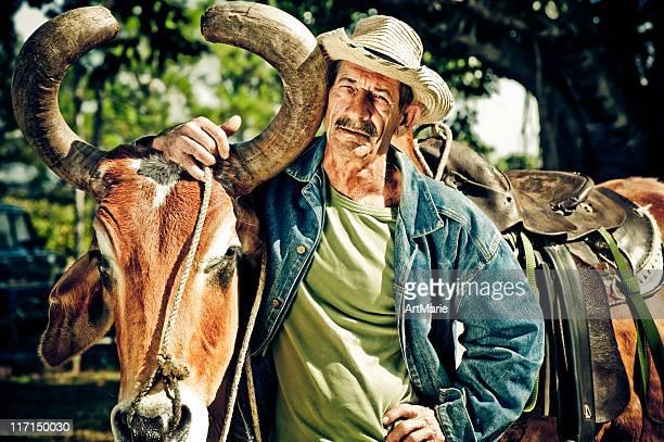 Real kubanische farmer