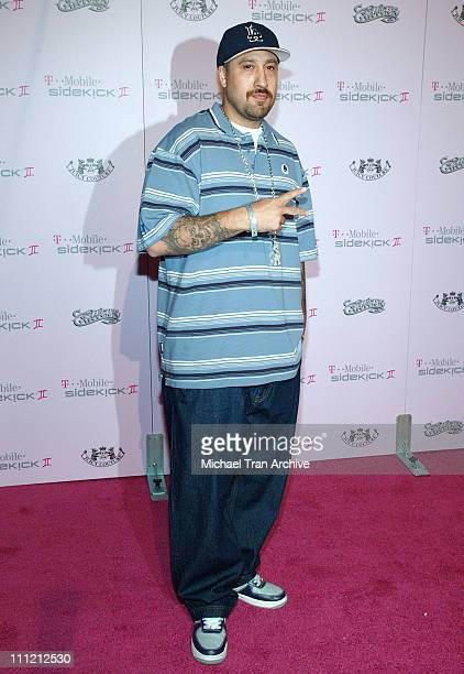 Real during T-Mobile Limited Edition Sidekick II Launch - Arrivals at T-Mobile Sidekick II City in Los Angeles, California, United States.