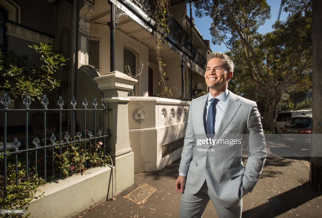 SYDNEY, NSW - (EUROPE AND AUSTRALASIA OUT) Real estate agent and reality television star Ryan Serhant poses during a photo shoot in Sydney, New South Wales.