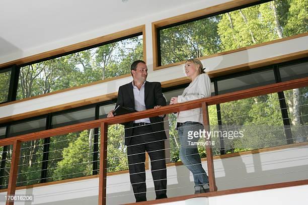 Real Estate Agent & Client