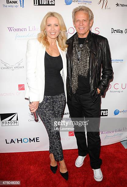 Real Estate Agent Kathrin Nicholson and husband Musician Don Felder attend the Women Like Us Foundation's A Night To Inspire presented by Focus...