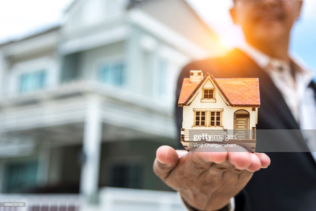 Real Estate Agent : Stock-Foto