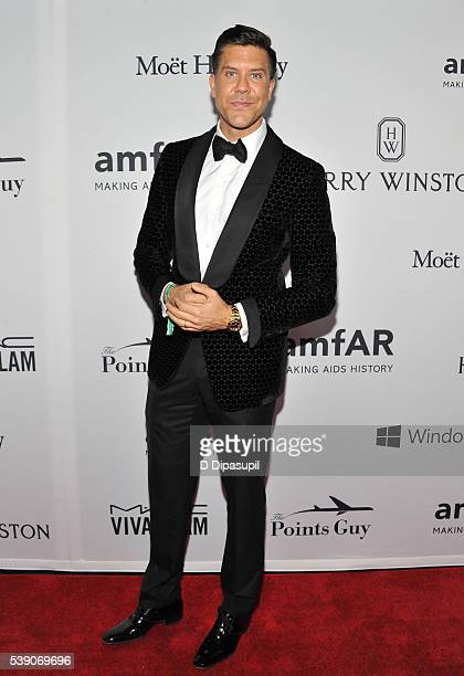 Real Estate Broker Fredrik Eklund attends the 7th Annual amfAR Inspiration Gala at Skylight at Moynihan Station on June 9 2016 in New York City