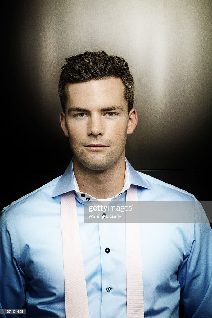 Real Estate broker Ryan Serhant is photographed for Social Life on September 11, 2012, in New York City.