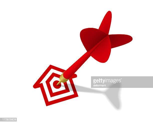 immobilien-konzept - punkten stock-fotos und bilder