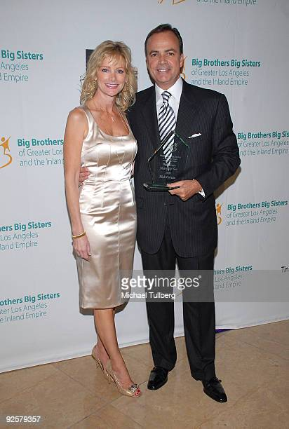 Real estate developer and honoree Rick Caruso arrives with wife Tina at the Big Brothers Big Sisters of Greater Los Angeles' 2009 Rising Stars Gala...