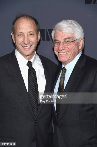 Real estate developer Bruce Ratner and event honoree former BAM Board Chair Alan Fishman attend The Alan Gala at The BAM Howard Gilman Opera House on...