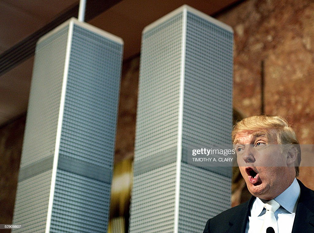 Donald Trump Presents New Proposal For World Trade Center Site