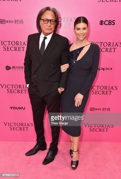 Real estate developer Mohamed Hadid and Shiva Safai attend the 2017 Victoria's Secret Fashion Show In Shanghai Pink Carpet Arrivals at MercedesBenz...