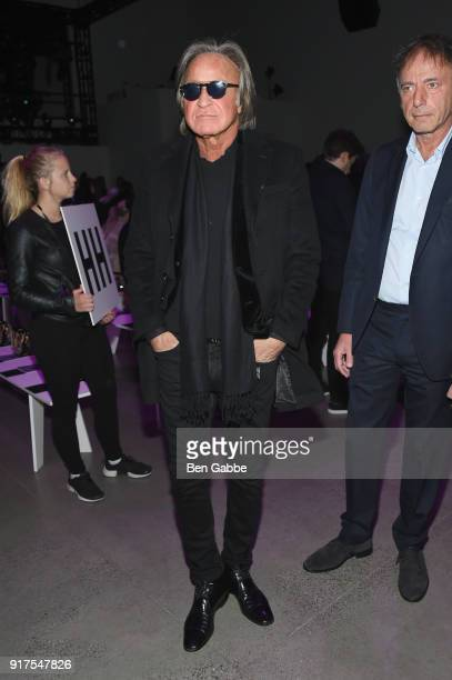 Real estate developer Mohamed Hadid attends the Anna Sui fashion show during New York Fashion Week The Shows at Gallery I at Spring Studios on...