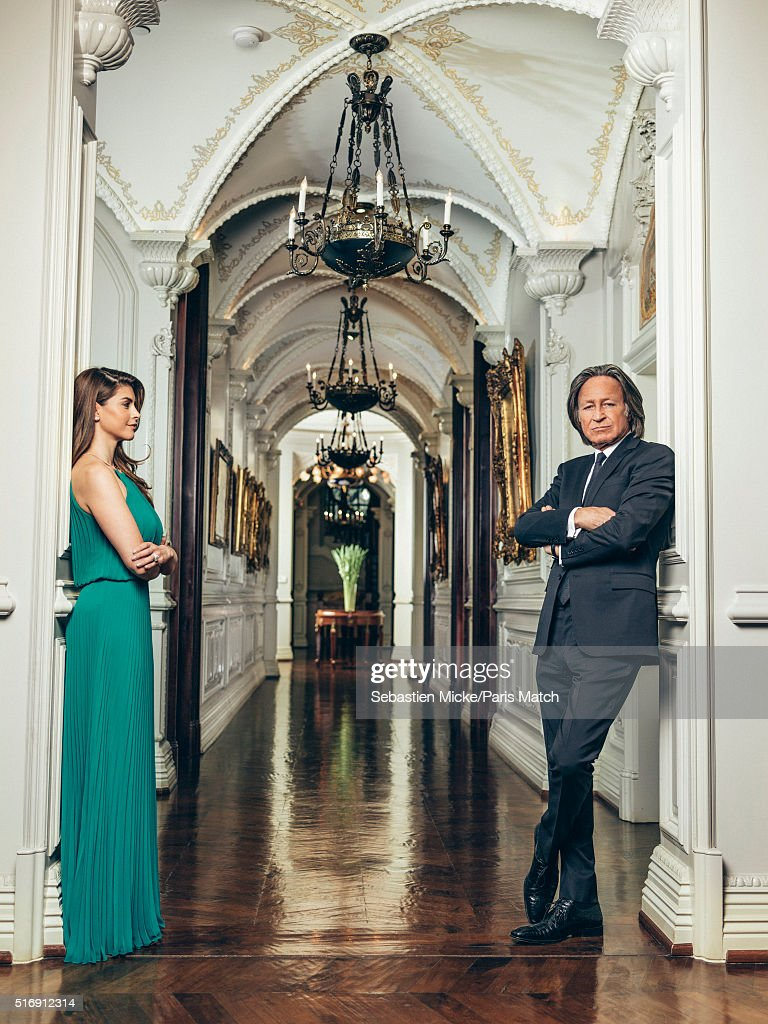 Mohamed Hadid, Paris Match Issue 3487, March 23, 20165 : News Photo