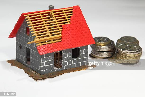 real estate finance - construction - pejft stock pictures, royalty-free photos & images
