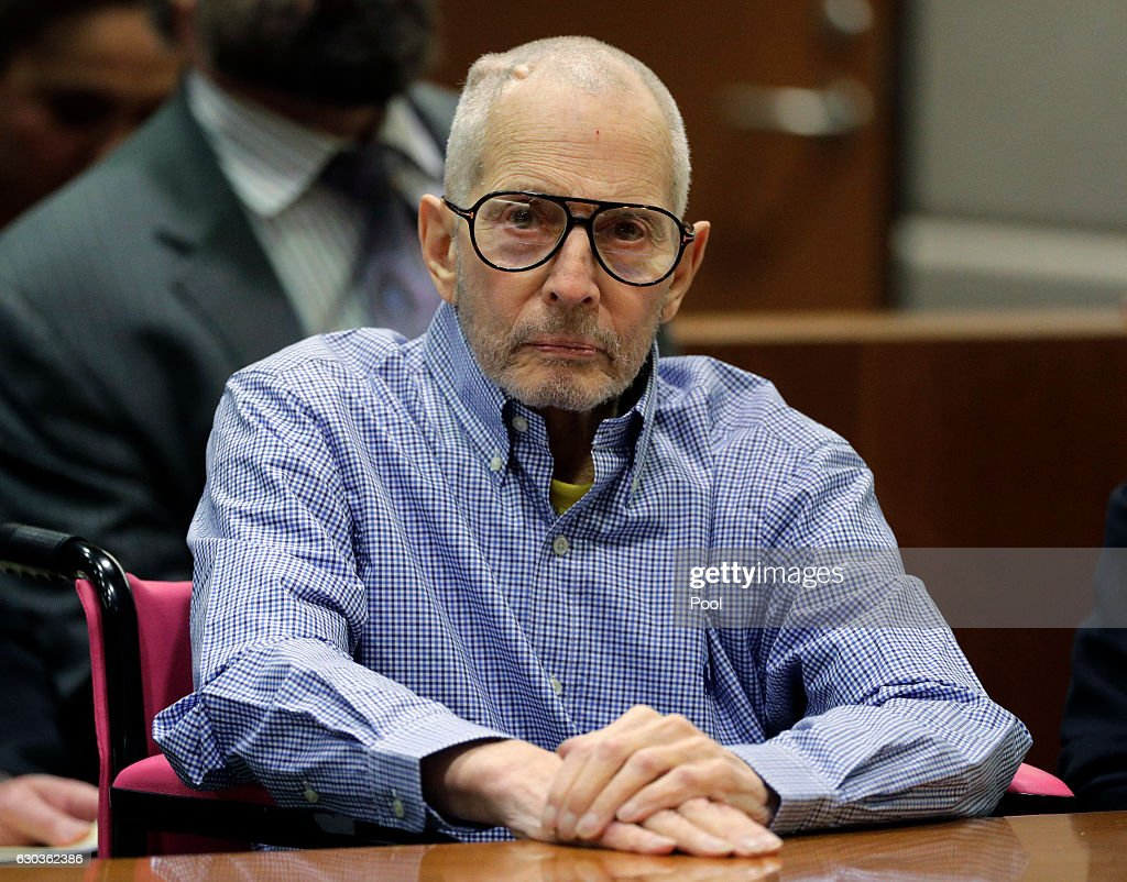 Imprisoned Real Estate Heir Robert Durst Appears In Court For Hearing In Murder Case