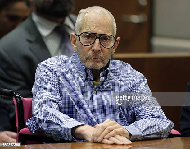 Real Estate Heir Robert Durst appears in the Airport Branch of the Los Angeles County Superior Court during a preliminary hearing on December 21 2016...