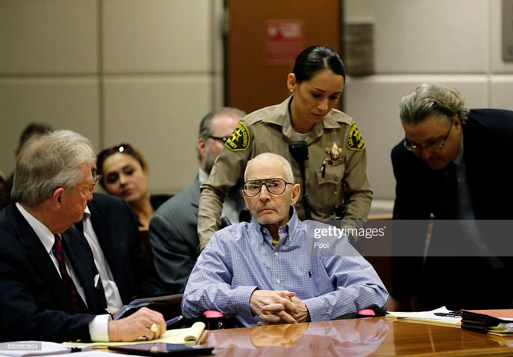 Imprisoned Real Estate Heir Robert Durst Appears In Court For Hearing In Murder Case : News Photo