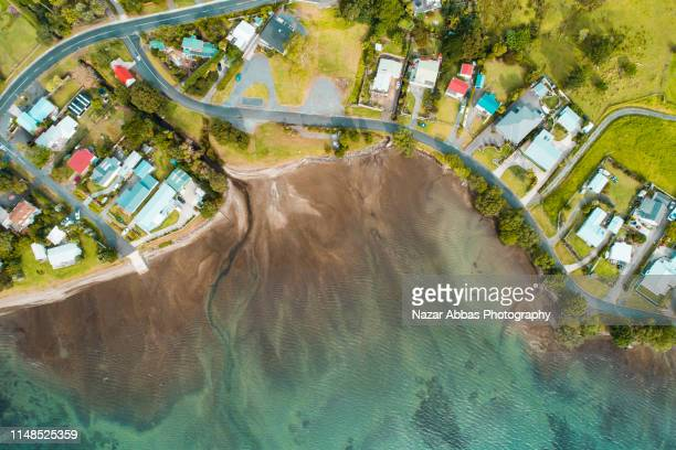 real estate in whangarei heads. - whangarei heads stock pictures, royalty-free photos & images